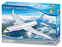 COBI Boeing 737 Max 8 Plane Model Building Kits , Multicolor