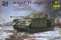 Border BT001 1/35 Model Panzer IV Ausf.G Mid/Late 2in1 #BT00