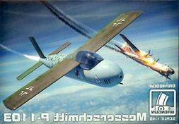 Brengun Models 1/48 MESSERSCHMITT P-1103 German Rocket Inter
