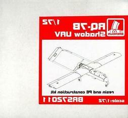 Brengun Models 1/72 RQ-7B SHADOW UAV Resin & Photo Etch Mode