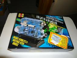 Build your own Engine Visible I4 Internal Combustion Motor H