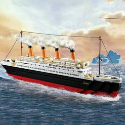 Building Blocks Kits City Titanic RMS Ship 3D Educational Mo