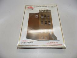 Model Power Burned Town House HO Building Kit #466 NOS Seale