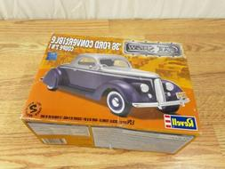 Revell Car Show 1936 36 Ford Convertible Coupe Model Car Kit