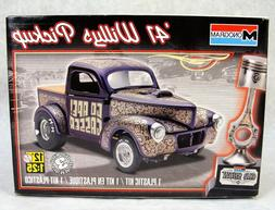MONOGRAM CAR SHOW '41 WILLYS PICKUP 1:25 CAR MODEL KIT NEW!