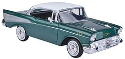 2 LOT CHEVY BEL AIR 1950 & 1957 DIECAST 1/24 CHEVROLET NEW A