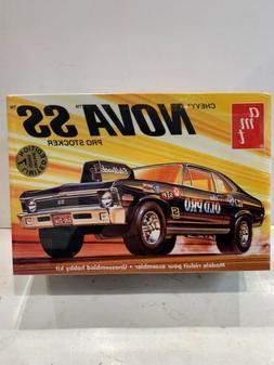 AMT Chevy Nova SS Pro Stocker 1/25 Scale Model Kit, Brand Ne