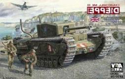 AFV Club Churchill MK III Dieppe Raid 1:35 Scale Military Mo