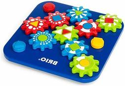 Brio COGWHEEL PUZZLE Baby Infant Toddler Wooden Toy