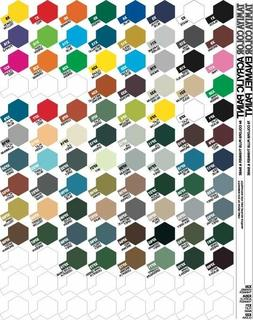 Tamiya Color Enamel Paint Gloss 10ml X-1 to X-34 Made in Jap