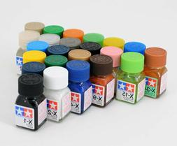 Tamiya Color Enamel Paint Gloss 80001-80034 X-1 to X-34  For