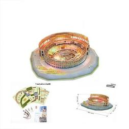 Colosseum GrownUp Toys 3D Model Puzzle Kits LED Lights,Room