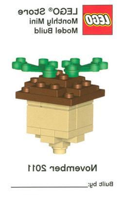 Constructibles® Acorn Mini Model LEGO® Parts & Instruction