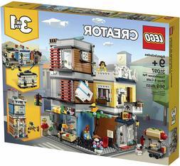 Lego Creator 31097 Townhouse Pet Shop & Cafe 969 Pieces| Bra