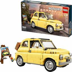 Creator Expert Fiat 500 Toy Car Building Set Adults Fans Mod