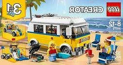 LEGO Creator 3in1 Sunshine Surfer Van 31079 Building Kit