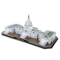 CubicFun L193h The Capitol Hill  3d Puzzle, 150 Pieces