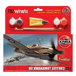 Airfix Curtiss Tomahawk IIB Starter Gift Set