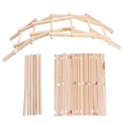 Misright Da Vinci Bridge Pathfinders Wood Construction Model