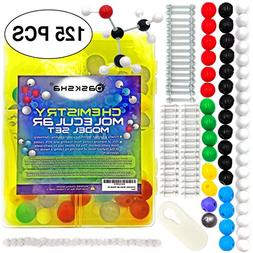 BEST Chemistry Model Kit has Atom and Bond Pieces For Buildi