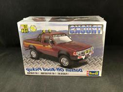 Revell Datsun Off-Road Pickup 1:24 Scale Plastic Model Kit 8