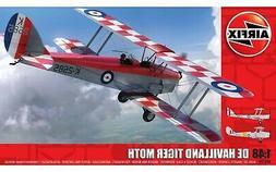 Airfix De Havilland D.H.82a Tiger Moth 1:48 Scale Plastic Mo