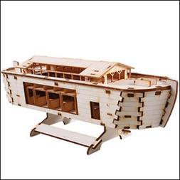 Desktop Wooden Model Kit Noah's Ark by YOUNGMODELER