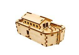 Desktop Wooden Model Kit Noah's Ark Kids / YG776 by YOUNGMOD