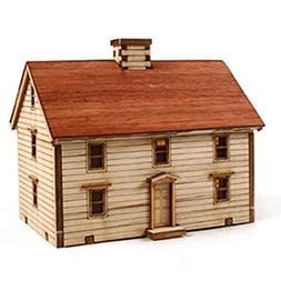 Desktop Wooden Model Kit Western Farm / YG623