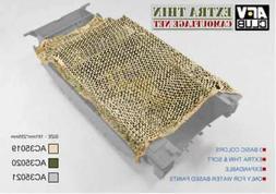 AFV Club Die Cut Camouflage Net Jungle Green -- Plastic Mode