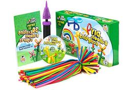 DIY Balloon Animal Kit for beginners. Twisting & Modeling ba