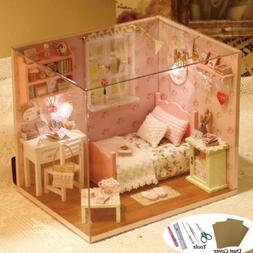 DIY House Kit Creative Game Toy Room Model Handmade Baby Gir