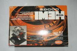 Testors Dodge 426 Hemi Engine Plastic Model Kit 1/4 Scale
