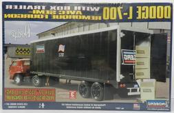 LINDBERG DODGE BOYS L700 BOX TRAILER SEMI BIG RIG HORN CAB O