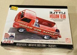 🏁 Lindberg Dodge Little Red Wagon Plastic Model Kit 1:25
