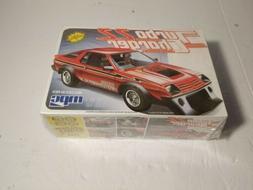 MPC Dodge Turbo Charger 2.2 Plastic Model Car Kit sealed  ra