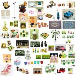 Dolls House Miniature Scaled Model Mini Fairy Garden Tools A