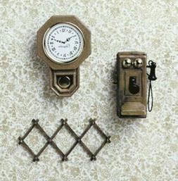Dolls House Chrysnbon Wall Accessories Kit 1:12 Model kit CH
