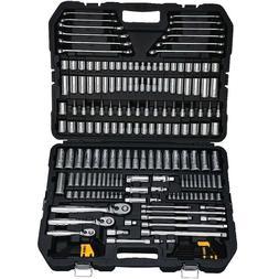 DEWALT DWMT72165 204 Piece Mechanics Tool Set 204 pc