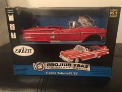 Testors Easy Builder Silver Series 58 Chevrolet Impala 1:24
