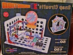 ELENCO Snap Circuits 3D Illumination Electronics Kit Model 5