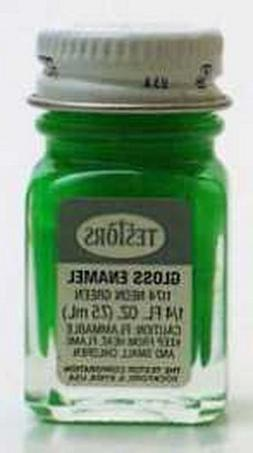 Testors Enamel Paint Open Stock .25oz-Green Fluorescent