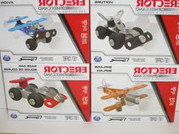 Erector by, Meccano - CARS & PLANES Metal Model Building Kit