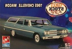 AMT ERTL 1:25 1965 Chevelle Wagon Street Stock Strip Plastic
