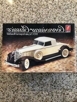 AMT ERTL 1932 Chevy Cabriolet Connoisseur Classics 1986 Mode