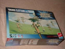 AMT/Ertl STAR WARS Episode I STAP with Battle Droid model ki