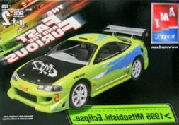 AMT Ertl The Fast and Furious 1995 MITSUBISHI ECLIPSE Model
