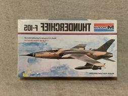 Monogram F-105 Thunderchief Vietnam Era Fighter Plane Sealed