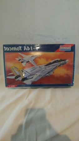 F-14A TOMCAT    Molded in Color by MONOGRAM 1/48 Scale   NEW