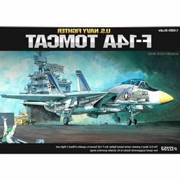 Academy F-14A Tomcat US Navy Fighter Plastic Model Kit 1/48